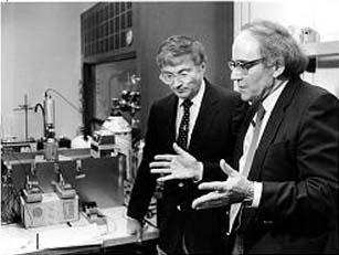 Electrochemicus Fleischmann en fysicus Pons