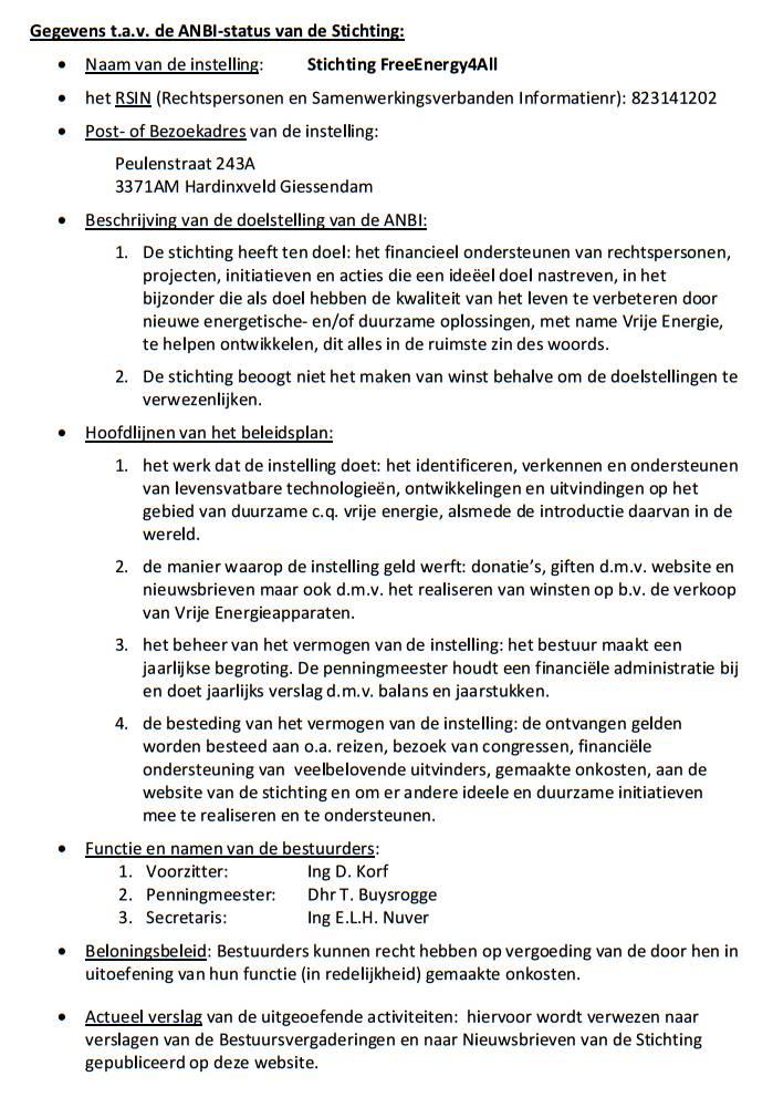 ANBI-status – tekst voor FE4A website – Status 31Dec13, pag-1